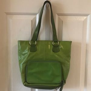 Giani Bernini | Faux leather Green Shoulder Bag